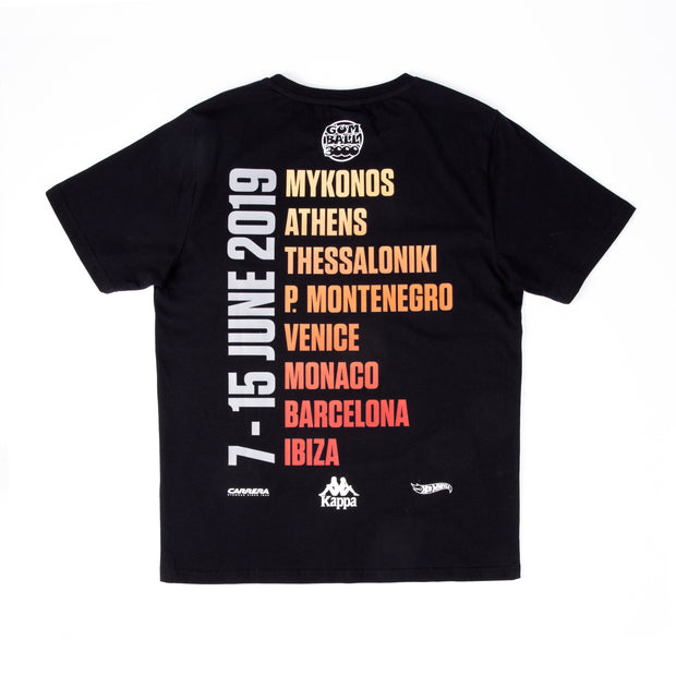 GB X KAPPA 2019 TOUR TEE BLACK