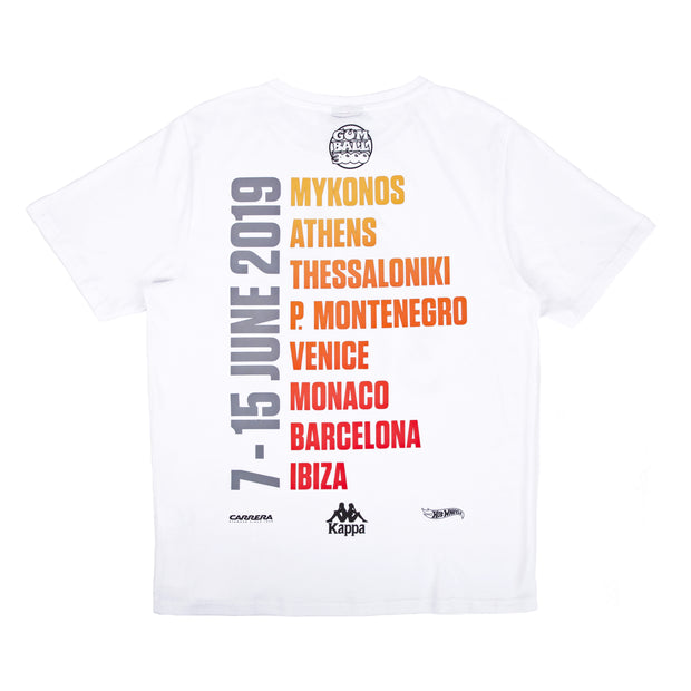 GB X KAPPA 2019 TOUR TEE WHITE