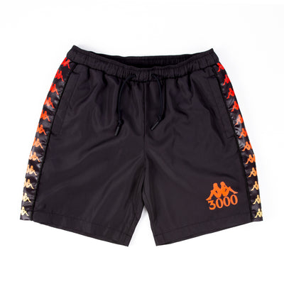 GB X KAPPA 2019 SHORTS BLACK
