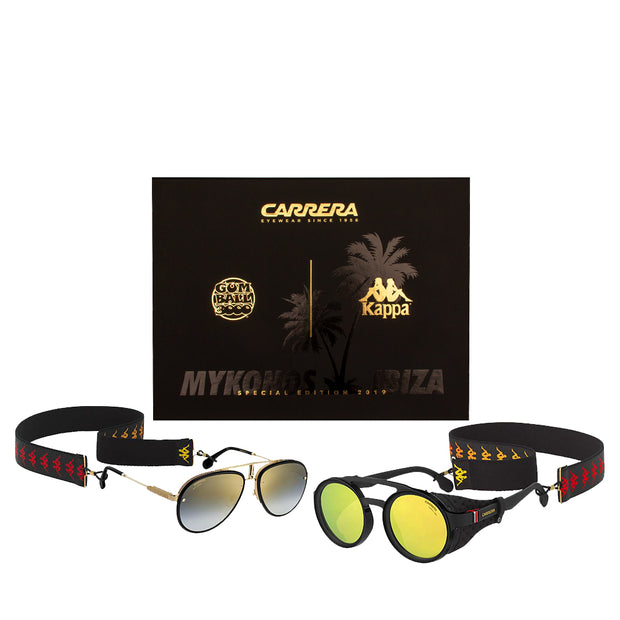 GB X CARRERA COLLECTORS EDITION SUNGLASSES BOX SET