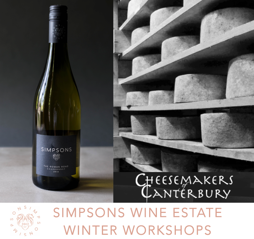 Winter Workshops - Cheese and Wine Experience with The CheeseMakers of Canterbury