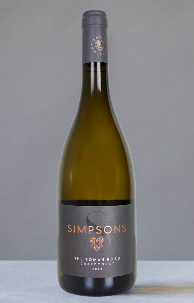 Roman Road Chardonnay '18 - (case of 6)