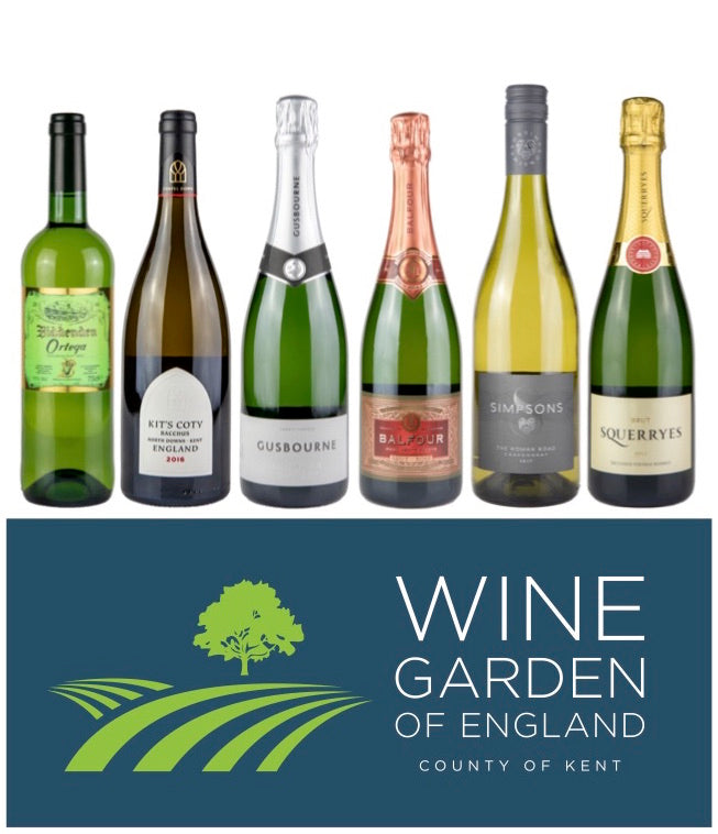 The Wine Garden of England - (Mixed Case of 6)