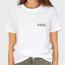 Load image into Gallery viewer, 50% BAD BISH - 50% BLEITSMOEL T-SHIRT