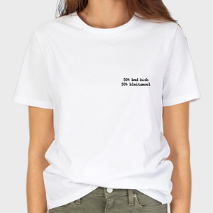 50% BAD BISH - 50% BLEITSMOEL T-SHIRT