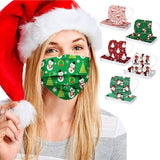 50pc Christmas Adult Designer Fasemask For Germ Protection Ship To Us Disposable Ski Fasemask For Adult Christmas Party Cosplay