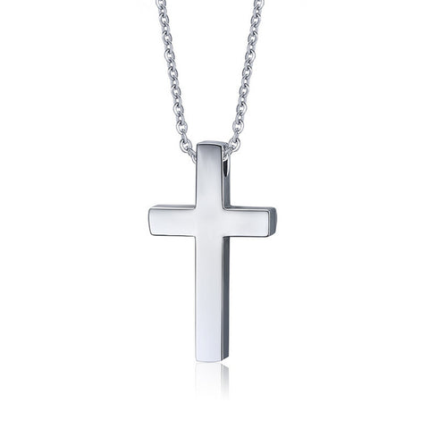 Vnox Stainless Steel Cross Pendant Necklace