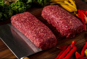 100 % Grass-Fed Ground Beef - 4 (1 lb) Portions