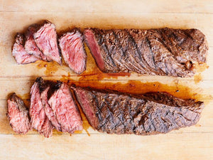 100% Grass-Fed Prime Hanger Steak - 4 (8oz) Portions
