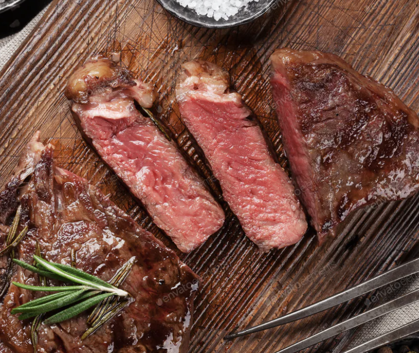 100% Grass-Fed Prime Ribeye Steak Box - 4 (10 oz) Portions