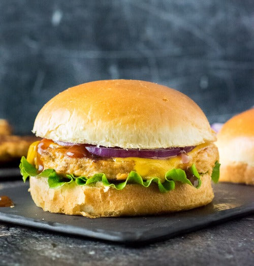 Chicken Burgers - 12 (4 oz) Portions