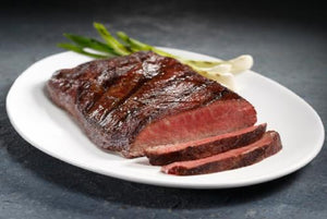 100% Grass-Fed Prime Flat Iron Steak Box - 4 (8 oz) Portions