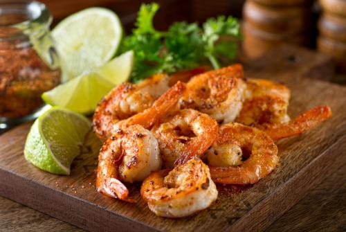 Raw Jumbo Shrimp Box - 16/20 ct. (2 lbs)