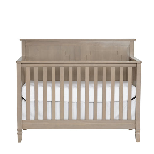 Asher 4-in-1 Lifetime™ Crib Blossom Gray