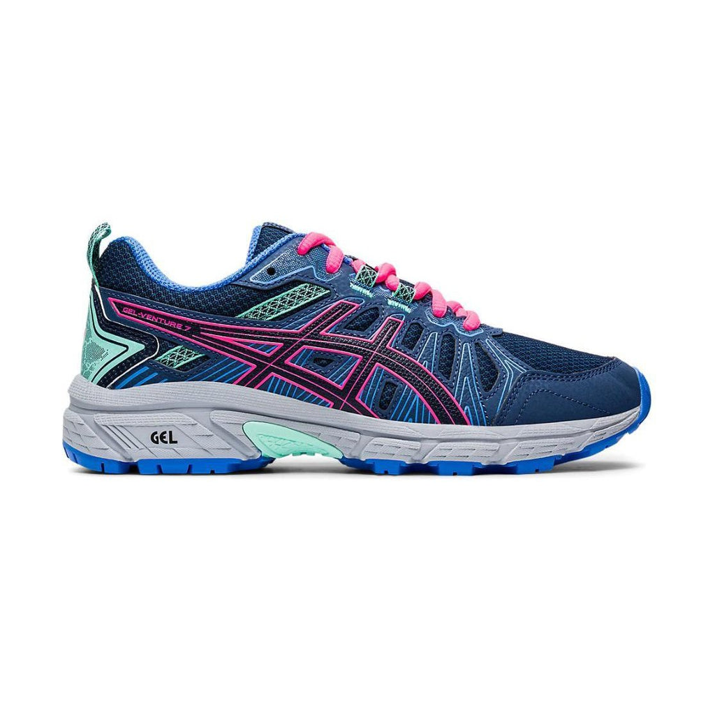 Girl's Asics Gel-venture 7GS-Shoes-33-OFF