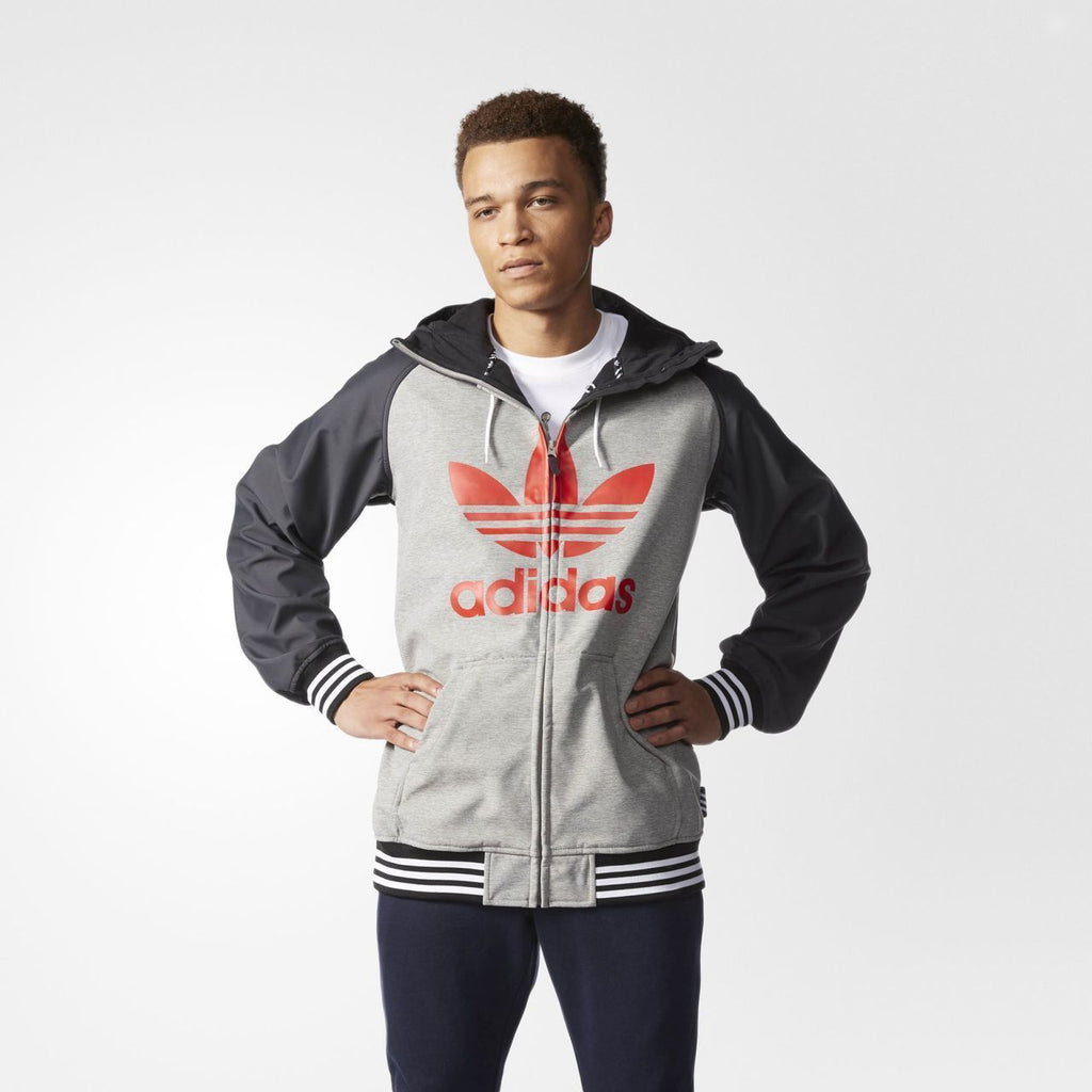 Men's Adidas GREELEY SOFT SHELL JACKET-Apparel-33-Off.com