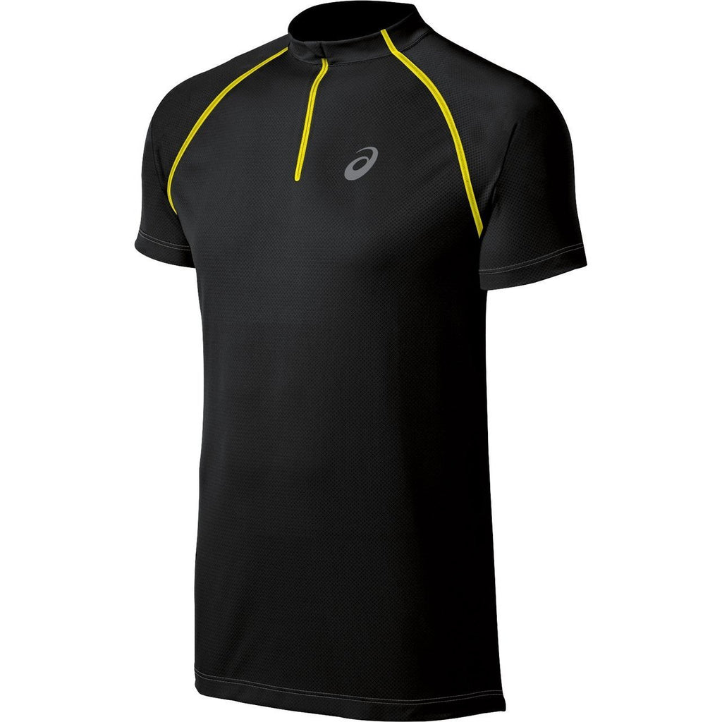 Men's Asics Speed Short Sleeve 1/2 Zip-Apparel-33-Off.com