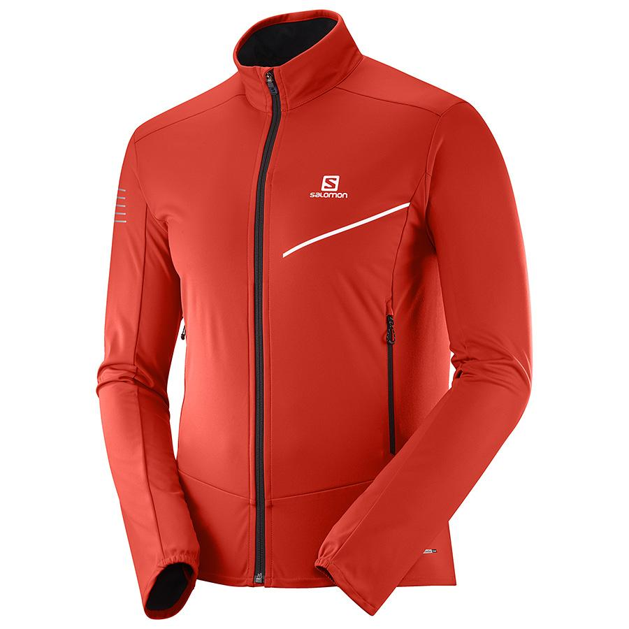 Men's Salomon RS SOFTSHELL JKT M-Apparel-33-OFF