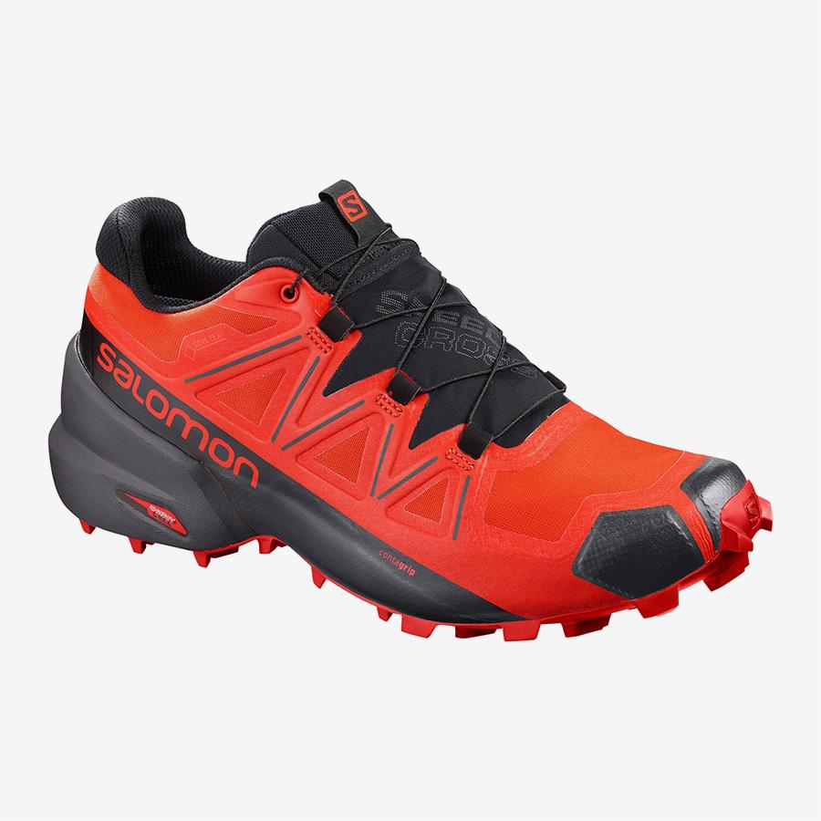 Men's Salomon Speedcross 5 GTX-Shoes-33-OFF