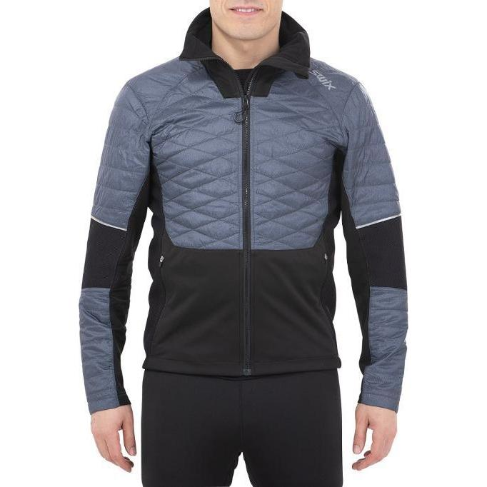 Men's Swix Keltten Men's Hybrid Jacket Heather-Apparel-33-OFF