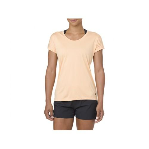 Women's Asics Capsleeve Top-Apparel-33-OFF