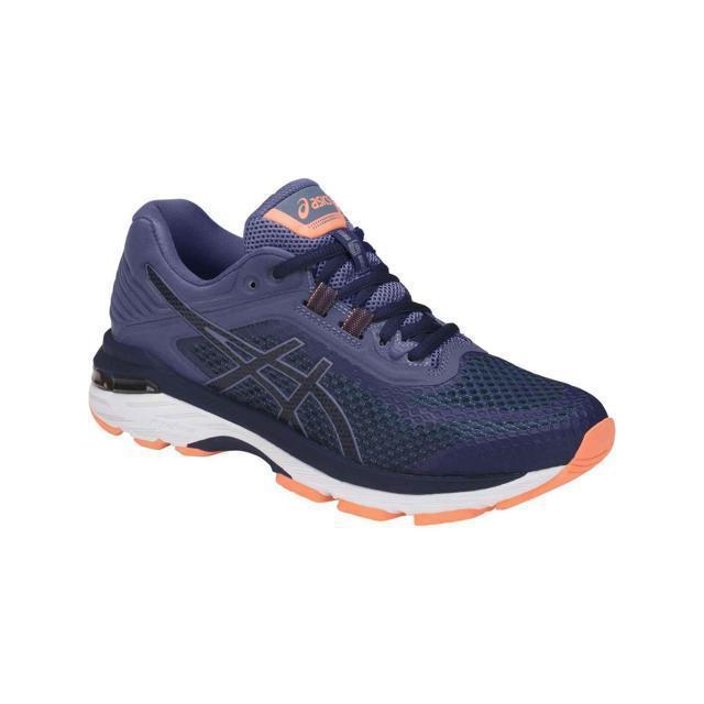 Women's Asics GT-2000 6 (2E)-Shoes-33-OFF