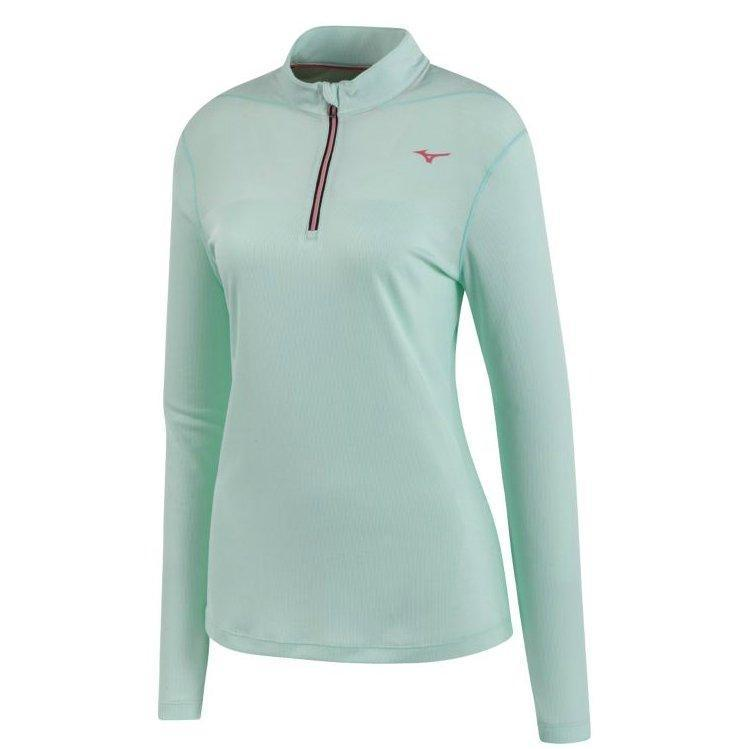 Women's Mizuno BT Body Mapping Half Zip Shirt-Apparel-33-Off.com