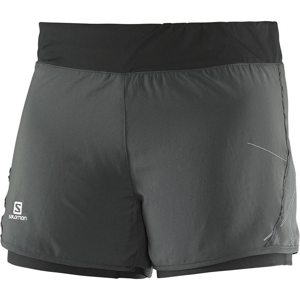 WOMEN'S SALOMON PARK 2 in 1 SHORT-Apparel-33-Off.com