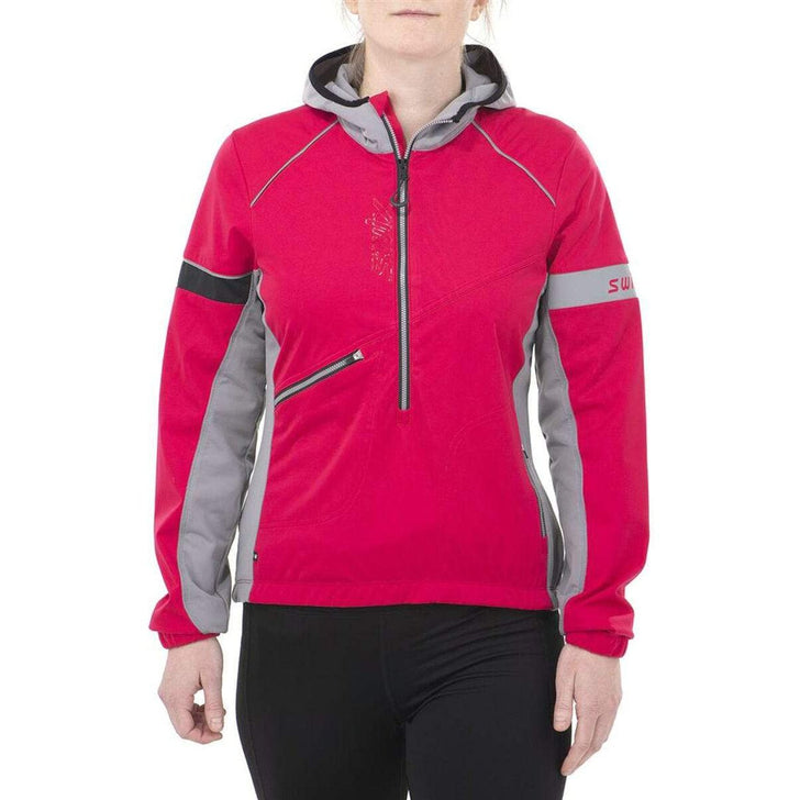 Women's Swix Nybo Pullover Jacket-Apparel-33-OFF