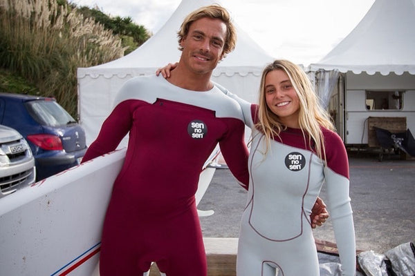 surf tandem sen no sen custom wetsuits