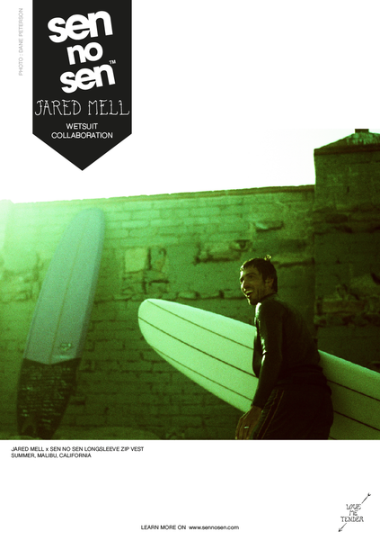 Jared Mell Sen No Sen wetsuits
