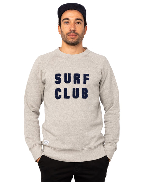 Sweat organic Surf Club gris