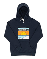 Sweat capuche Making Waves navy
