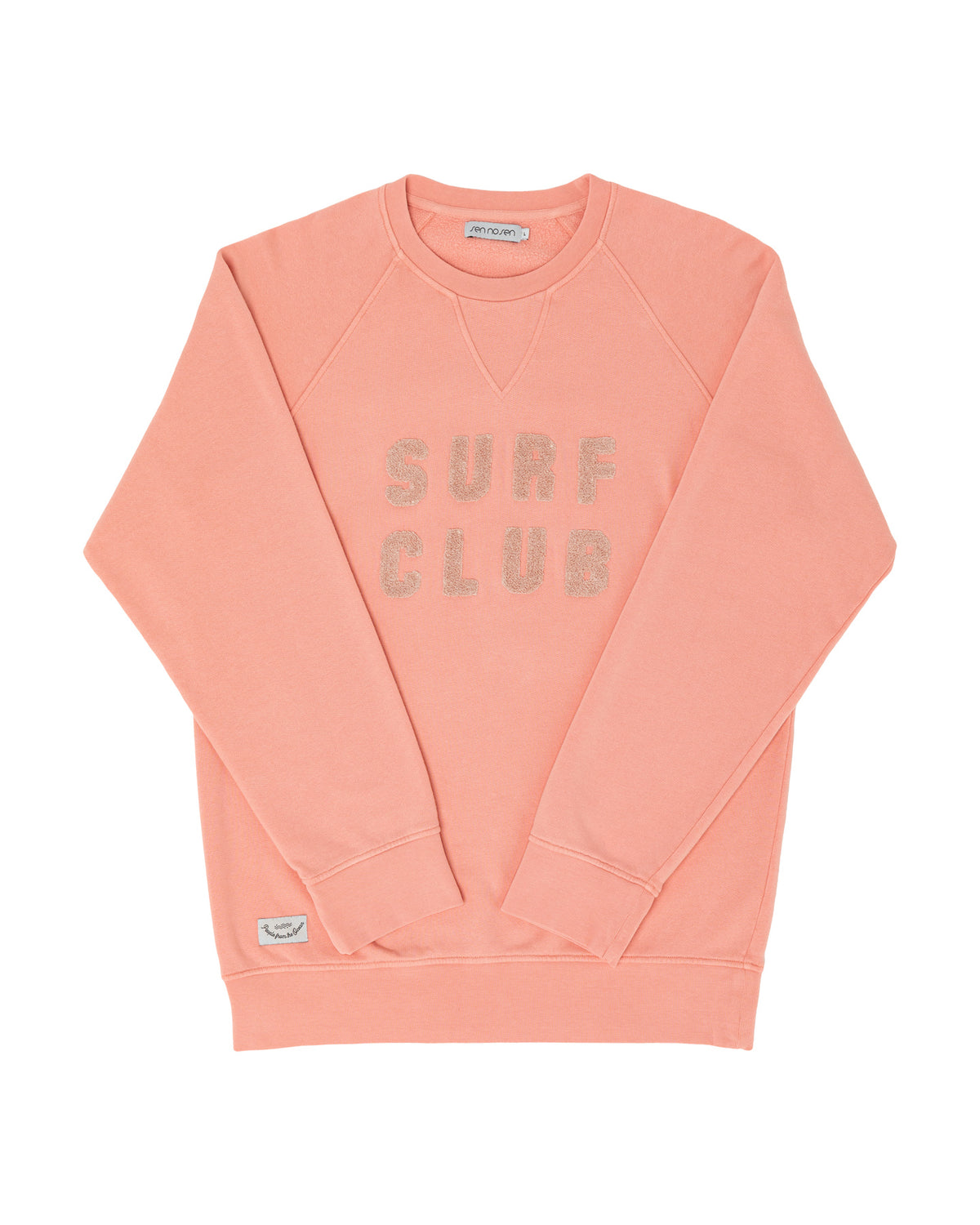 Sweat organic Surf Club rose