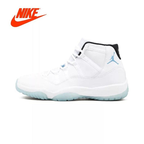 New! Authentic NIKE Air Jordan 11 Retro Legend's - sharks jewels