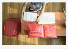 6 Set Travel Luggage Packing Cubes