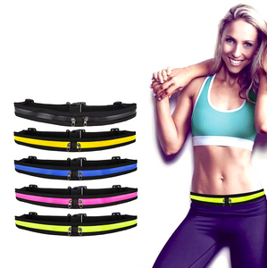 Dual Pocket Running Waist Belt - Workout/Travel