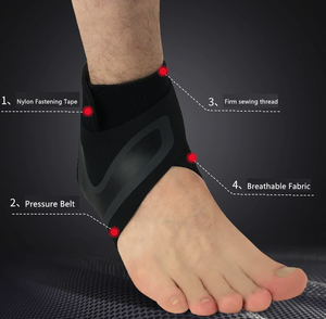 Breathable Elastic Ankle Brace & Stabilizer