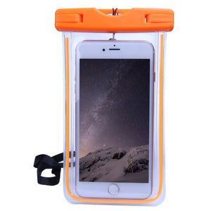 Universal Waterproof Touchscreen Phone Pouch
