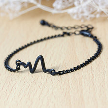 Heart Beat Rhythm Chain Bracelet
