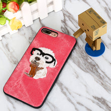 3D Embroidered Handmade Dog Phone Case