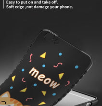 Cat Themed Silicone Full Cover Phone Case