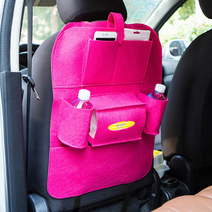 Multi-Pocket Car Back Seat Organizer