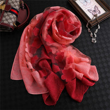 Taverny™ Flower Gradient Spring Scarf