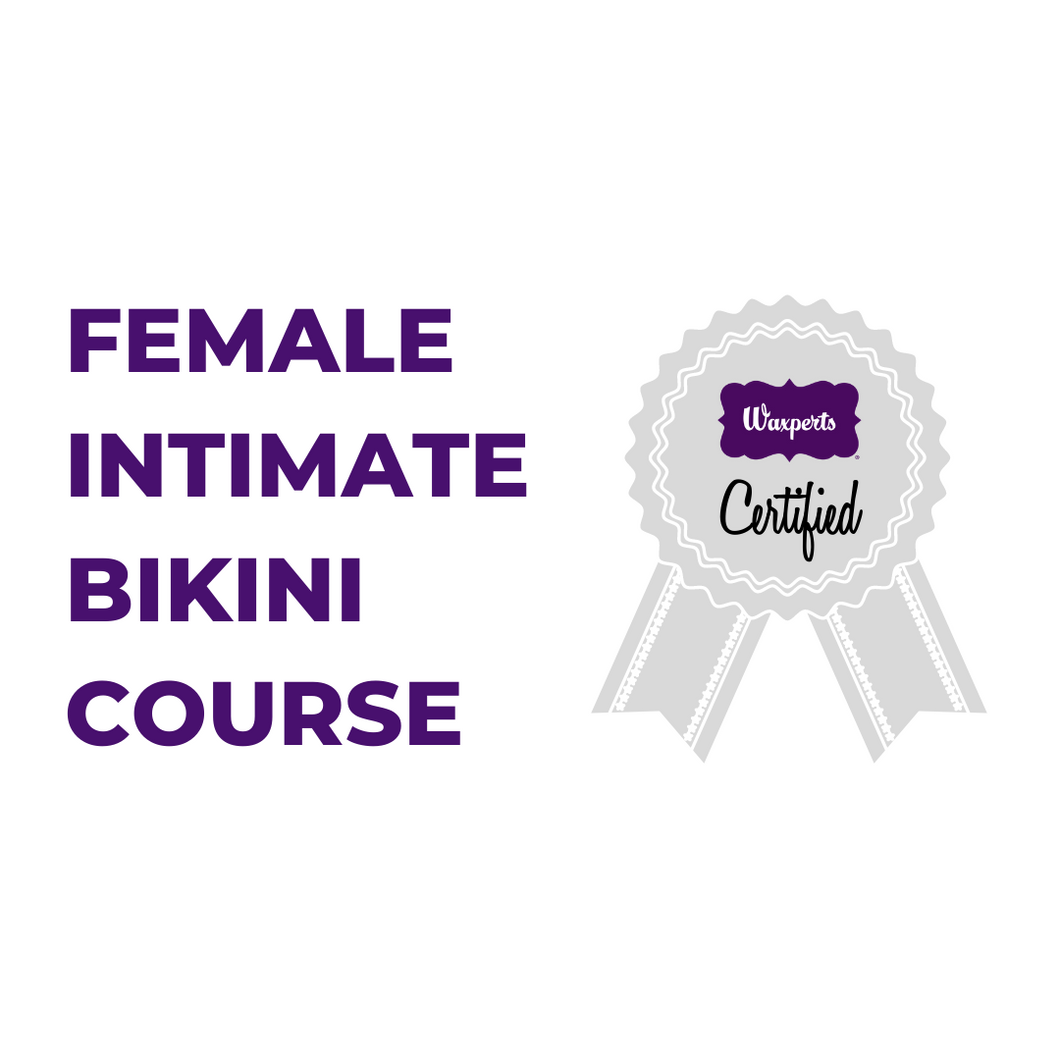 ONLINE - FEMALE INTIMATE BIKINI TRAINING - CERTIFIED