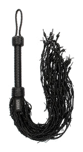 Leather Barbed Wire Flogger