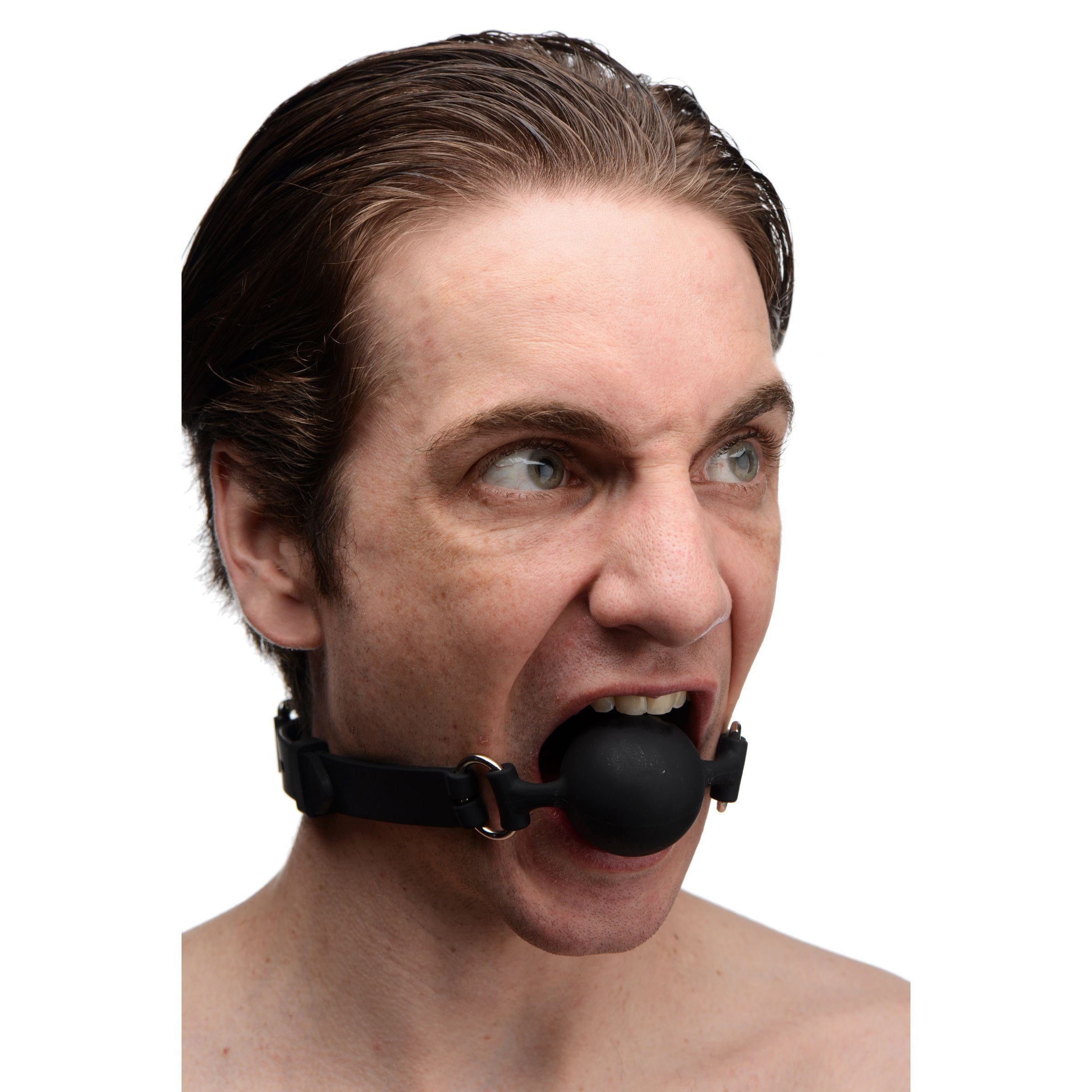 Suppressor Silicone Face Banger Gag