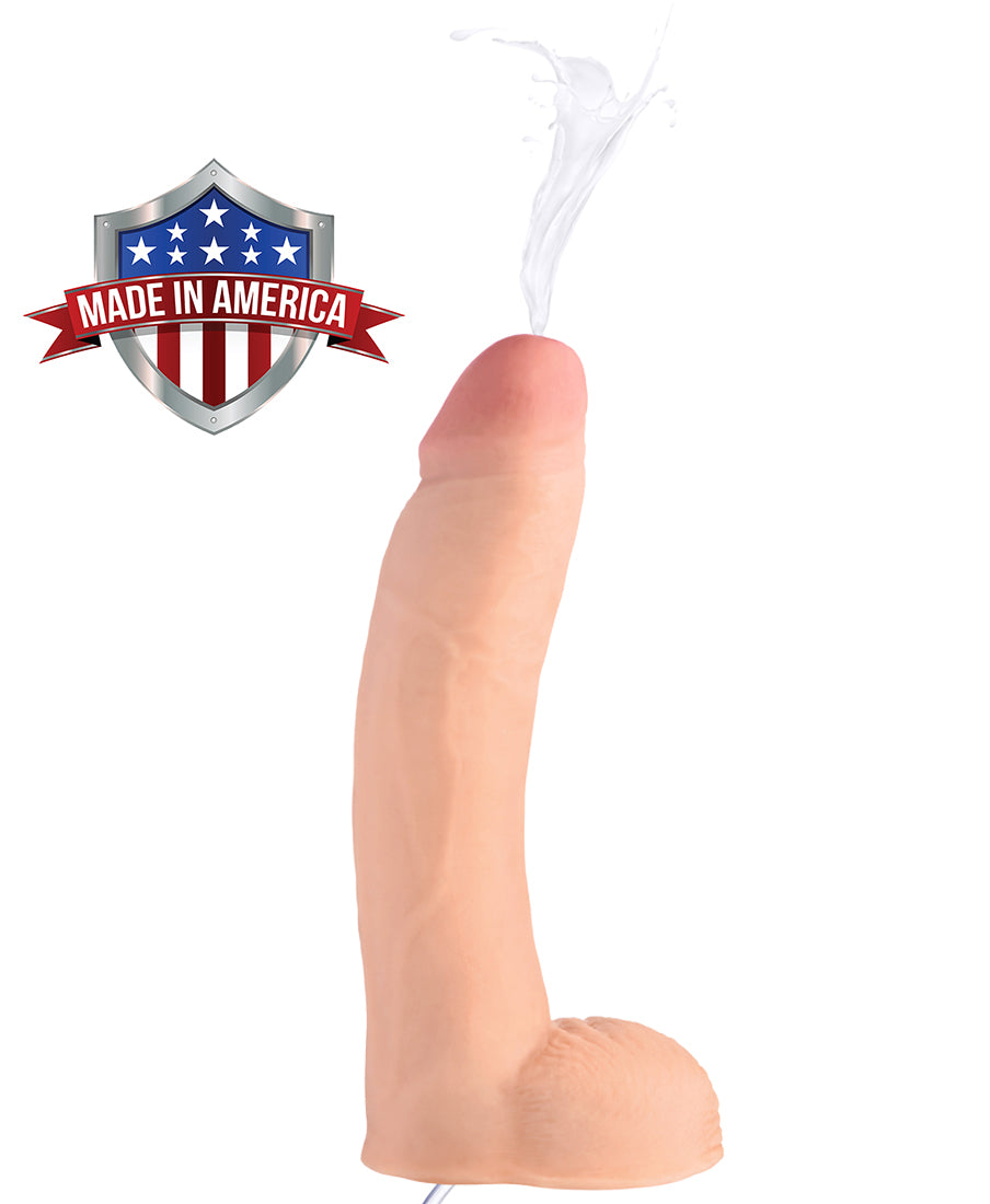 9 Inch Realistic Dual Density Squirting Dildo