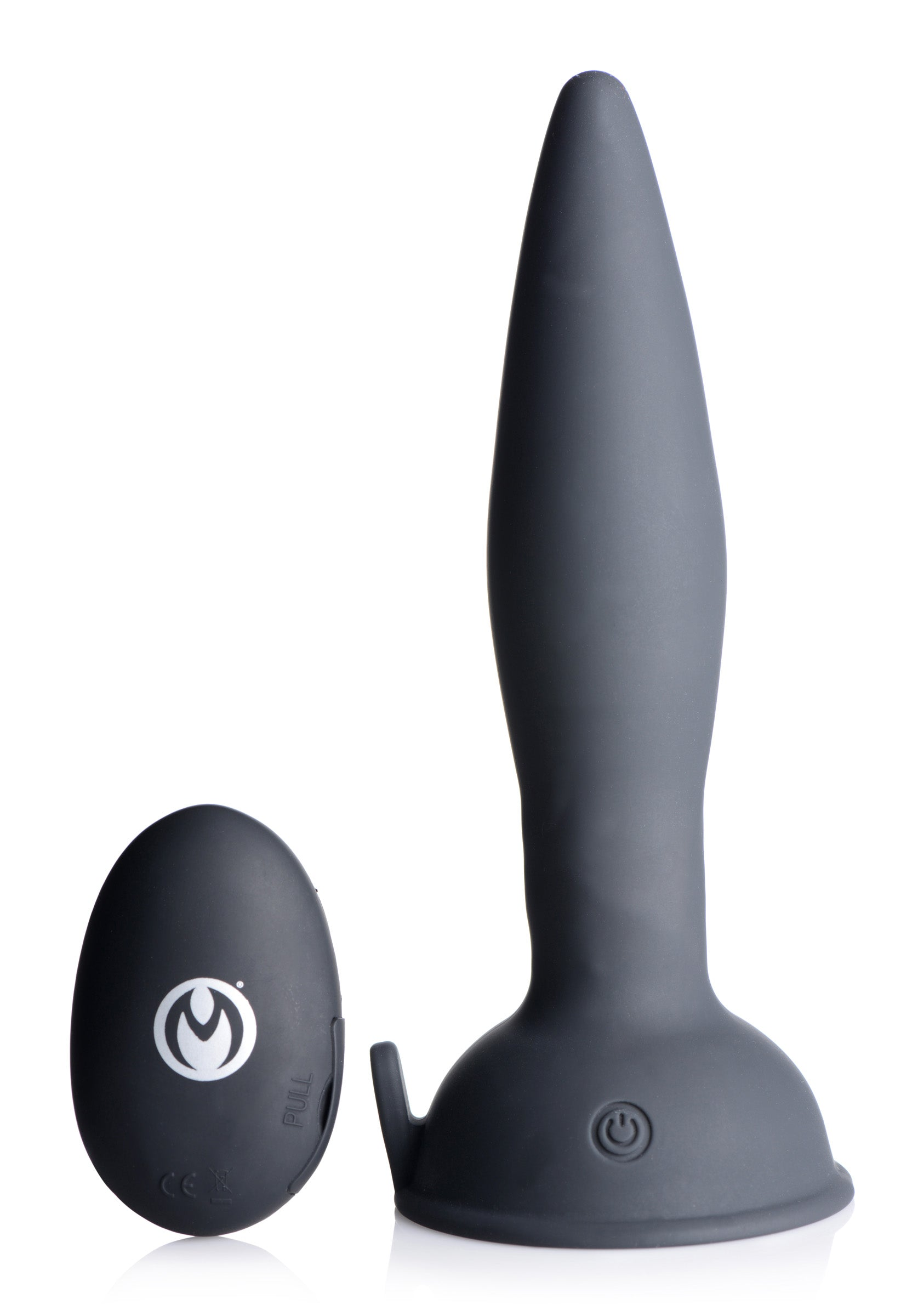 Turbo Ass-spinner Silicone Anal Plug With Remote Control