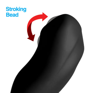 7x Bendable Prostate Stimulator With Stroking Bead